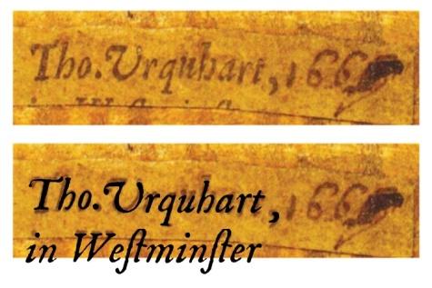 urquhart labels