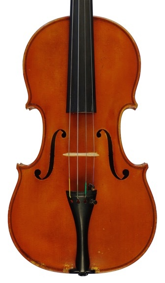 W. E. Hill & Sons violin number 15, one of Langonet's copies of the Tuscan Stradivari.