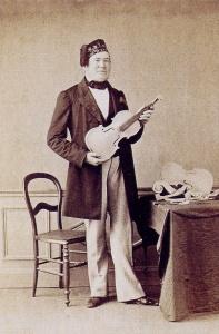 Jean-Baptiste Vuillaume in 1860.