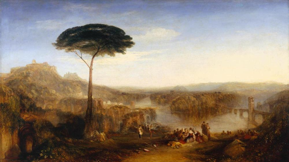 Childe Harold's Pilgrimage - Italy exhibited 1832 Joseph Mallord William Turner 1775-1851 Accepted by the nation as part of the Turner Bequest 1856 http://www.tate.org.uk/art/work/N00516