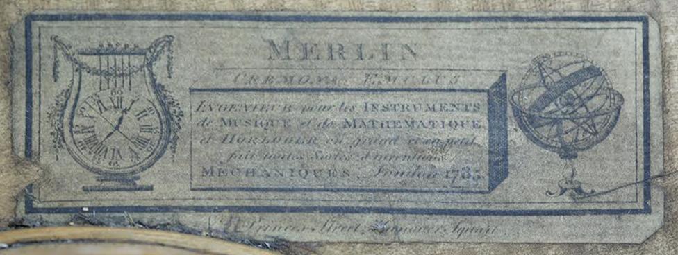 Roller Skates and Mechanical Swans: John Joseph Merlin's Cremona Emulus.