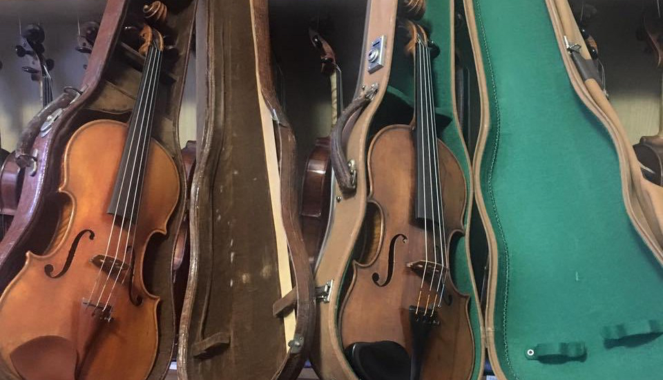 How much has this violin been played?