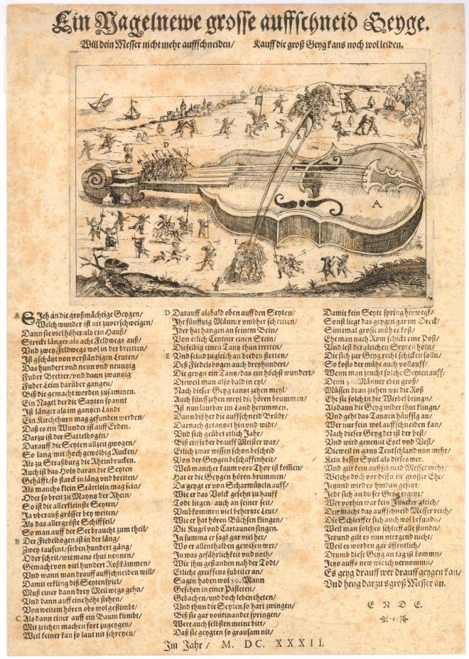 1632 German broadside - much the same instrument.