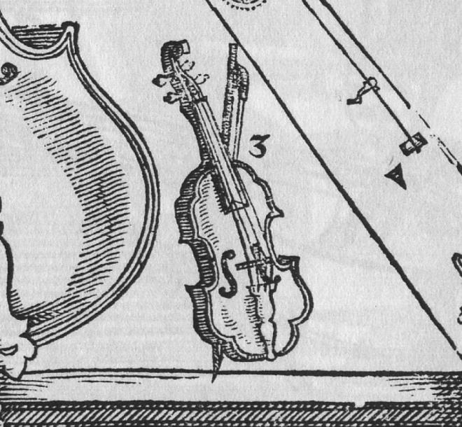Michael Praetorius, 1619 Klein Diskant Geige
