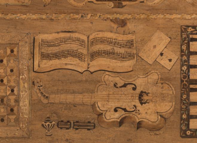 1568 Eglantine Table, Hardwick Hall