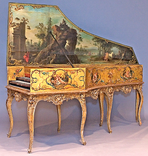 Andreas Ruckers 1643 with 19th century decoration.